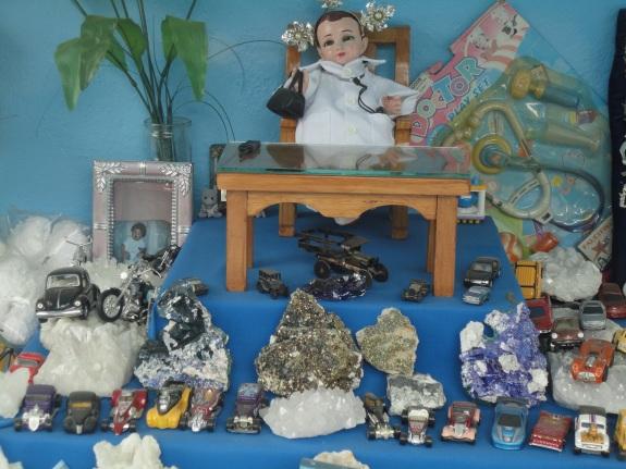 mineral altar
